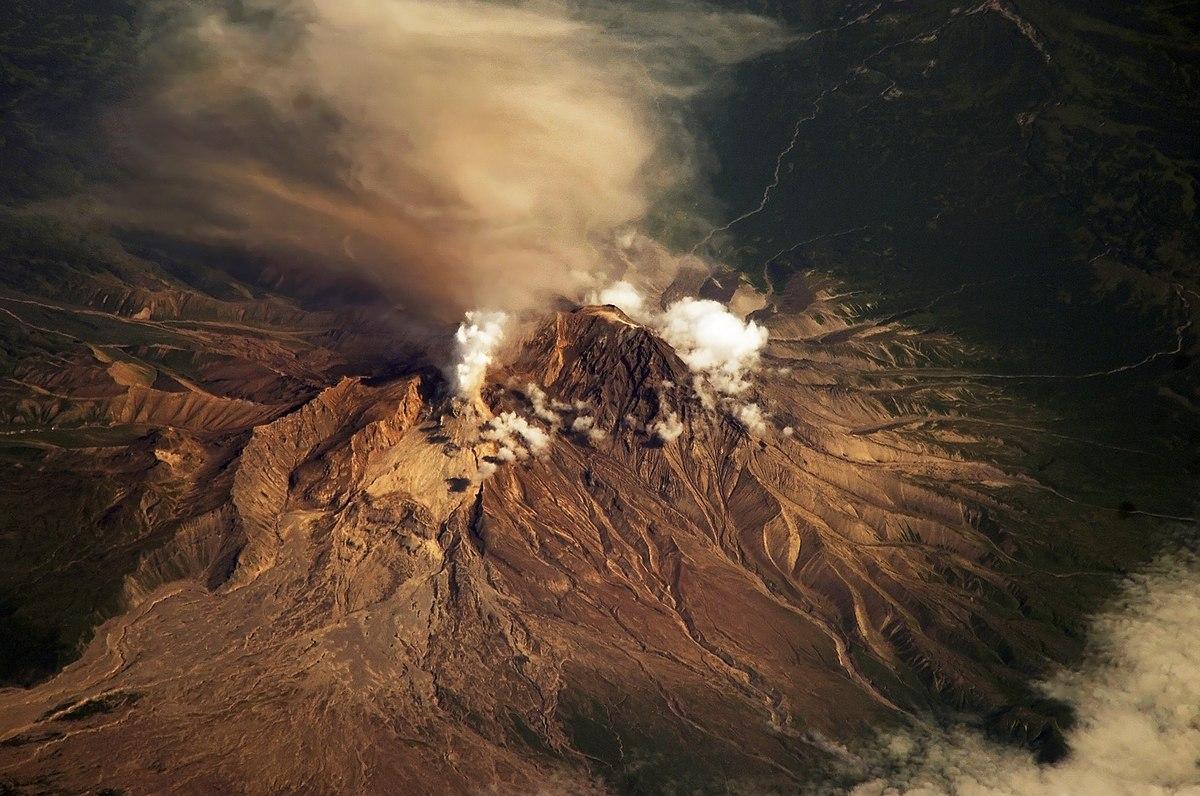 Volcano Sheveluch, Kamchatka, Russia
