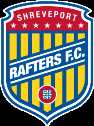 Shreveport Rafters FC - Image: Shreveportraftersfcl ogo