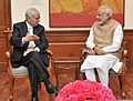 Shri Mufti Mohammad Sayeed meeting the Prime Minister, Shri Narendra Modi, in New Delhi on February 27, 2015.jpg