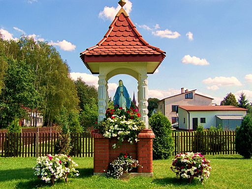 Shrine to the Virgin Mary