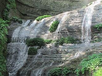 Rangamati - Image: Shuvolong Falls Lower Part