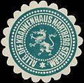 Siegelmarke Allg. öff. Krankenhaus Hartberg Steierm. W0321083.jpg