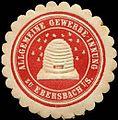 Siegelmarke Allgemeine Gewerbe - Innung zu Ebersbach i. S. W0205090.jpg