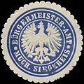 Siegelmarke Bürgermeister-Amt Much - Siegkreis W0382890.jpg