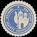 Siegelmarke Kleines Insigel der Stadt Wittenburg W0356106.jpg