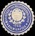 Siegelmarke Magistrat und Polizeiverwaltung - Sulmierzyce W0260280.jpg
