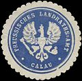 Siegelmarke Pr. Landraths-Amt Calau W0356535.jpg
