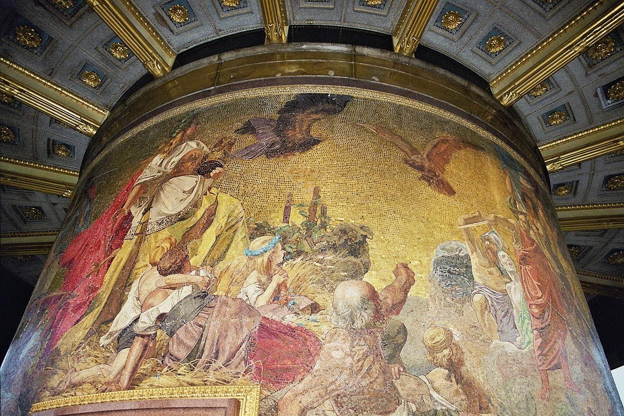Siegessaeule Berlin; Mosaic