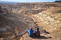 Sierras Blancas, 2 amigos mirando el horizonte.jpg