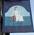 Sign for the Britannia Inn - geograph.org.uk - 2146444.jpg