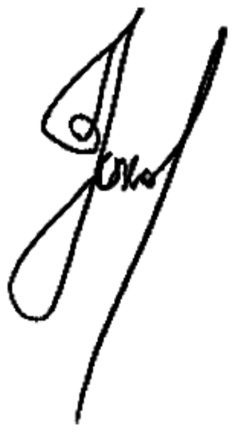 Mikhail Prokhorov - Image: Signature of Mikhail Prokhorov