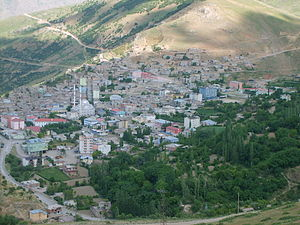Siirt Province by-election, 2003 - The Pervari district of Siirt, where alleged irregularities occurred