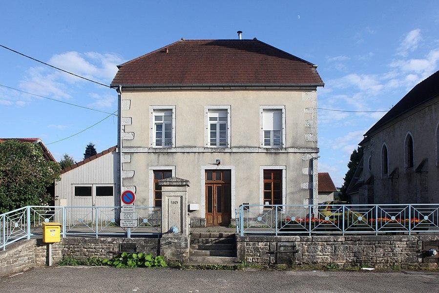 Mairie de Silley-Amancey (Doubs).