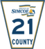 Simcoe Road 21 sign.png