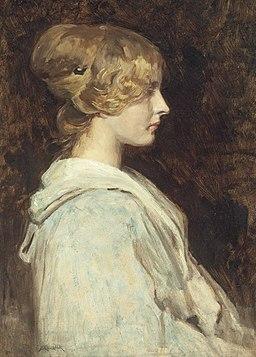 Simon Glücklich - Porträt eines Mädchens