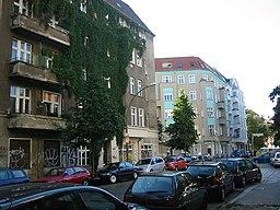 Simplonstraße in Berlin