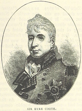 Eyre Coote (British Army officer) - An 1895 illustration of Coote