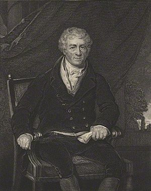 Sir Robert Peel, 1st Baronet - Engraving of Sir Robert Peel, 1st Baronet, by John Henry Robinson (mid 19th century)