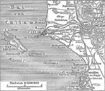 Situationsplan von Lima