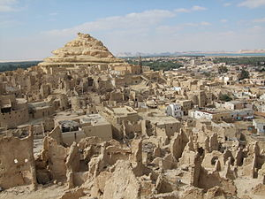 Old town of Shali in Siwa Oasis