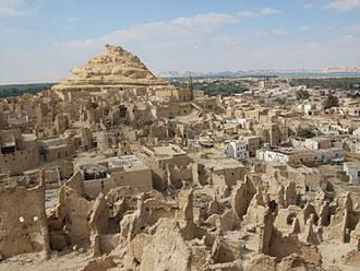 Siwa Oasis - Old town of Shali in Siwa Oasis