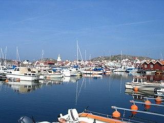 Skärhamn Place in Bohuslän, Sweden