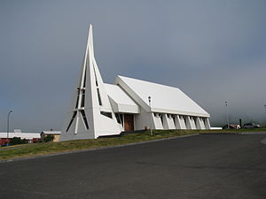Skagaströnd - Village church