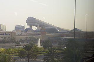 Ski Dubai indoor ski slope in Dubai