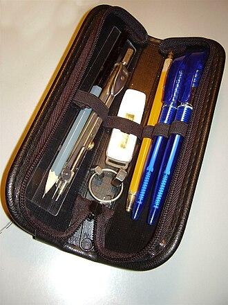 Pencil case - A pencil case