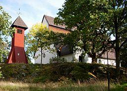 Store Sköndals kirke i oktober 2008
