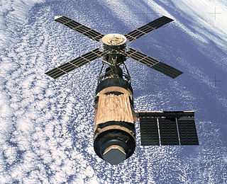 Skylab 1st space station launched and operated by NASA