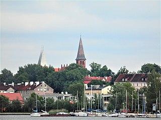 Ostróda Place in Warmian-Masurian Voivodeship, Poland