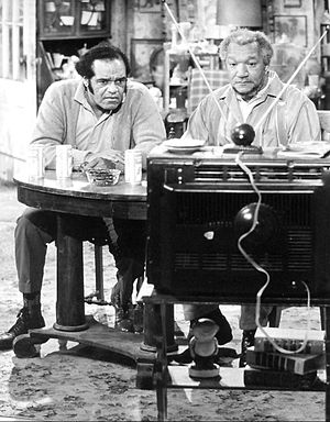 Slappy White - White (left) as Fred's friend, Melvin, on Sanford and Son in 1972.