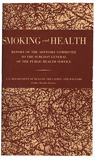 <i>Smoking and Health: Report of the Advisory Committee to the Surgeon General of the United States</i> 1964 US government report on the health effects of smoking
