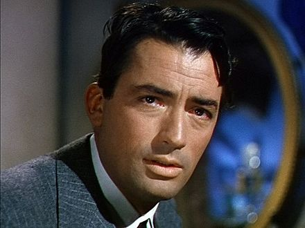 Peck in The Snows of Kilimanjaro (1952) Snows kilimanjaro gregory peck.jpg