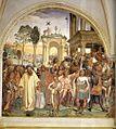 Sodoma - Life of St Benedict, Scene 12 - Benedict Receives Maurus and Placidus - WGA21573.jpg