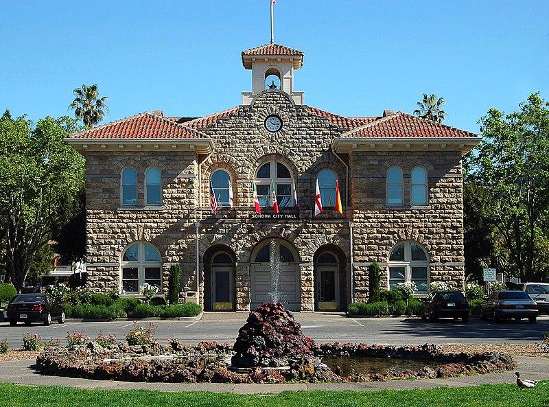 Sonoma City Hall Plaza California Photographer Cory Maylett