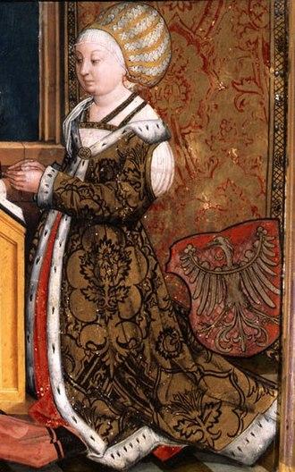 Sophia Jagiellon, Margravine of Brandenburg-Ansbach - Image: Sophiavon Polen