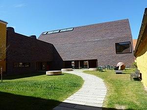 Sorø Art Museum - Image: Sorø Art Museum courtyard
