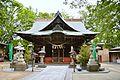 Souja-jinja (Maebashi) haiden.JPG