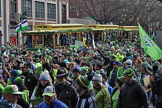 Seattle Sounders FC - The victory parade for the Sounders after MLS Cup 2016