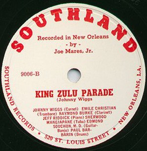 Southland Records - Image: Southland Zulu