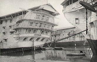 French ship Souverain (1819) - Image: Souverain A Bougault img 3108