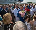 Soyuz TMA-07M Commander Roman Romanenko is welcomed home.jpg
