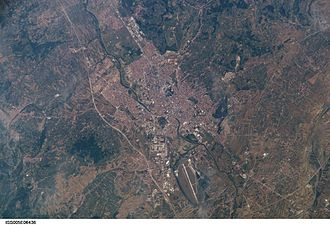 Niš - Niš from space.