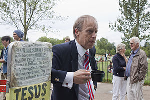 Speakers' Corner - A Christian speaker at Speakers' Corner (2010)