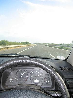 Speeding Car-140mph