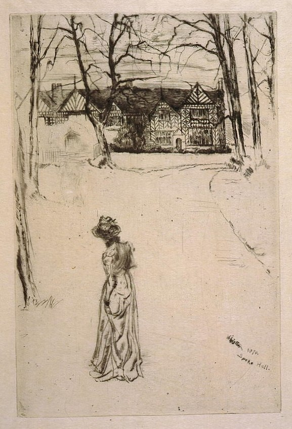 Speke Hall by James McNeill Whistler