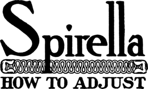 William W. Kincaid - Spirella logo, 1913.