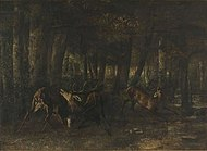 Spring Rut The Battle of the Stags 1861 Gustave Courbet.jpg